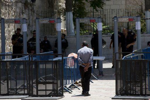 Jew Detector: The Latest: UN Deplores Palestinians Deaths In Jerusalem