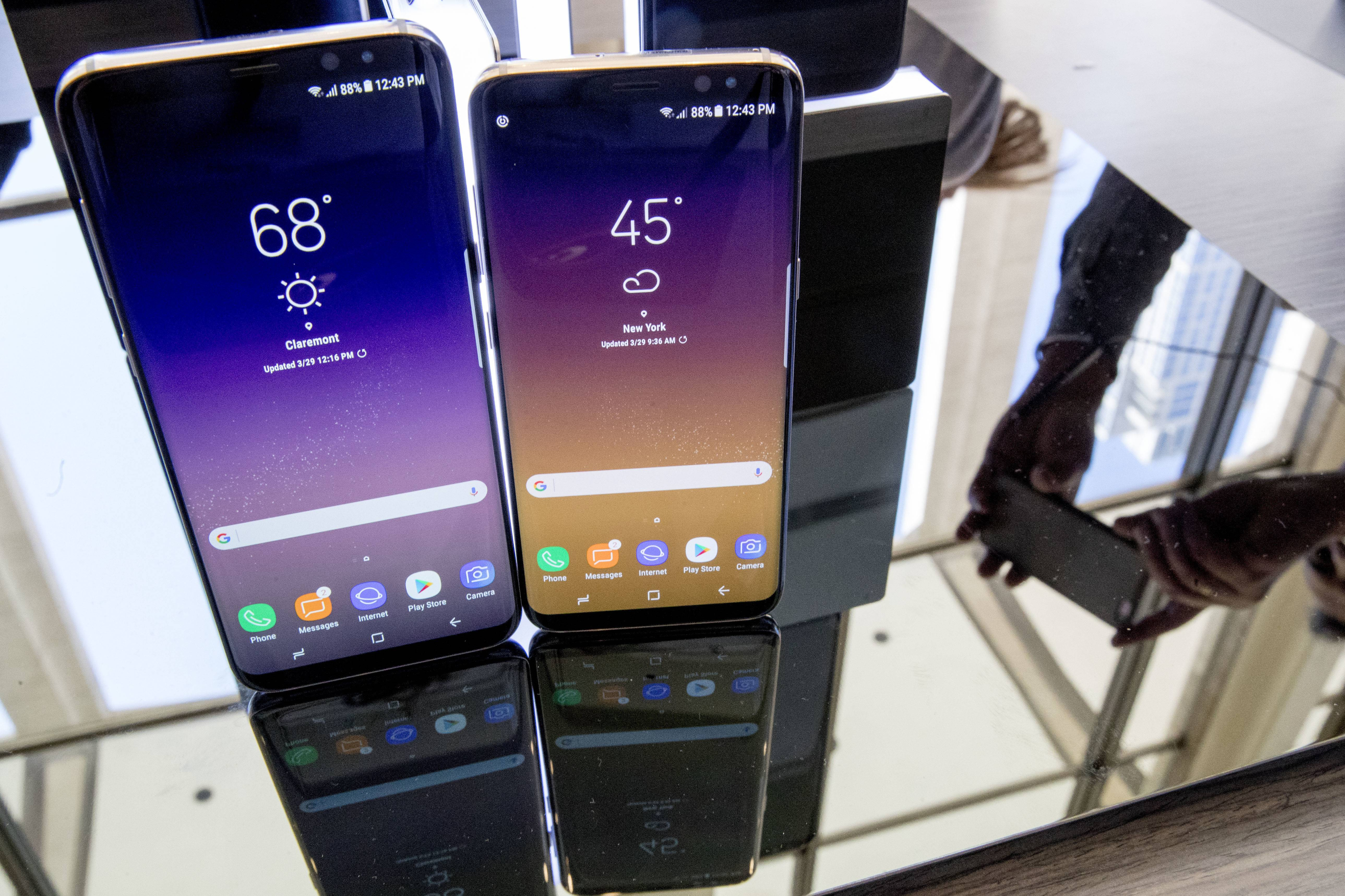 Samsung is finally rolling out the English-language version of its Bixby voice assistant to U.S. users with Galaxy S8 and S8+ phones, the company said Wednesday.