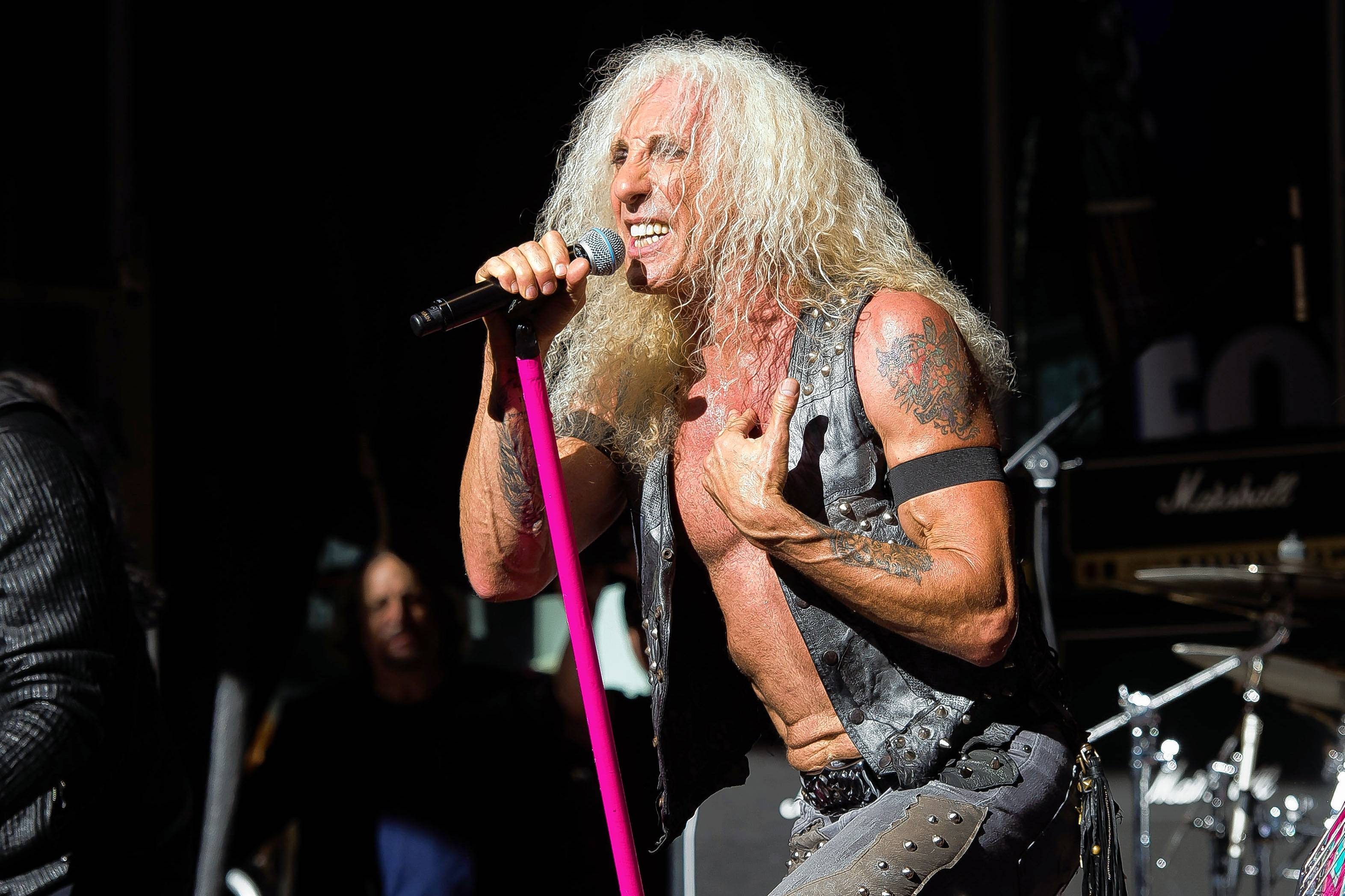 Dee Snider from the band Twisted Sister performs at the Arcada Theatre in St. Charles on Saturday, July 22.