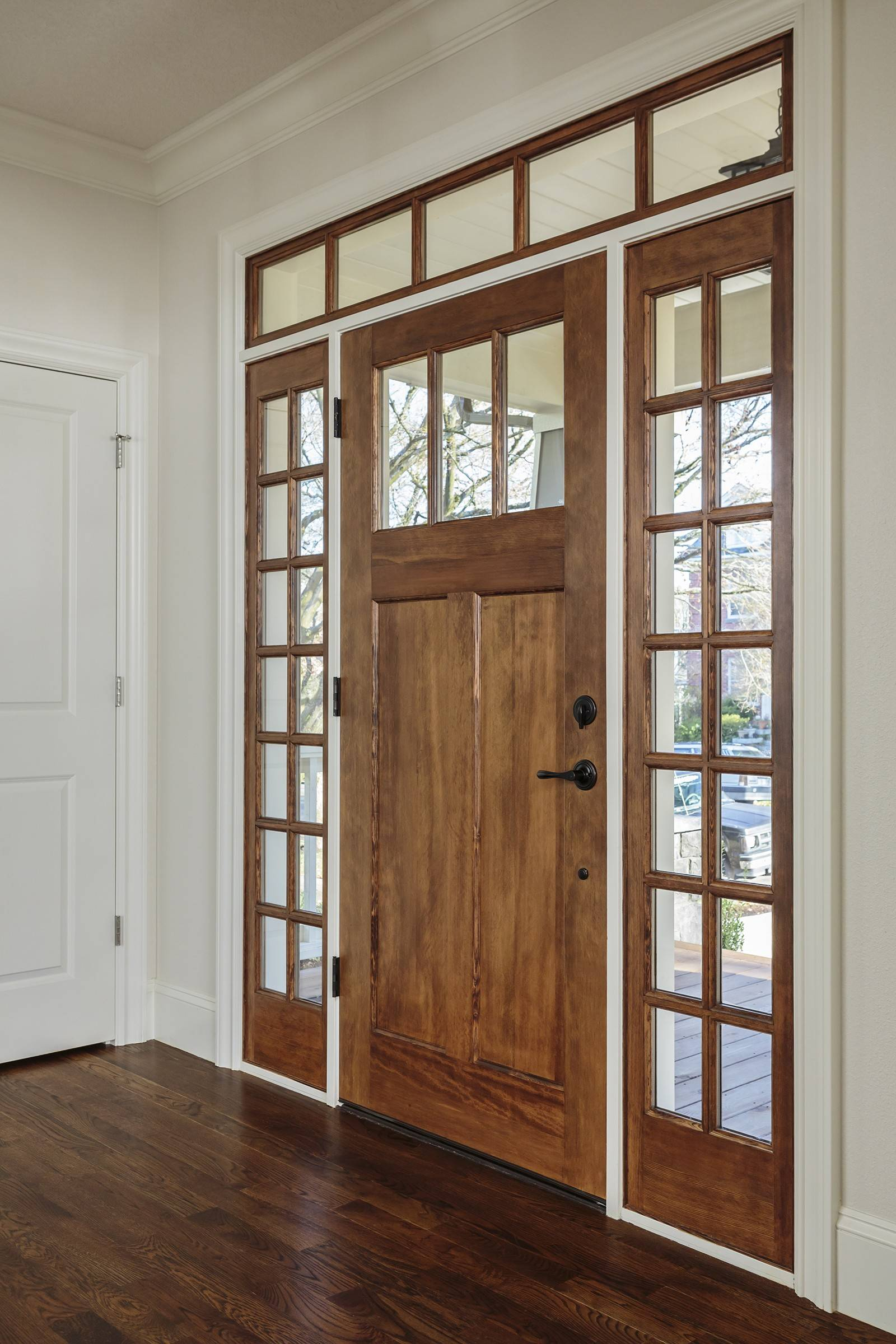 Not only does the front door make a first impression it also reflects the style & Doors add to the personality of a house pezcame.com