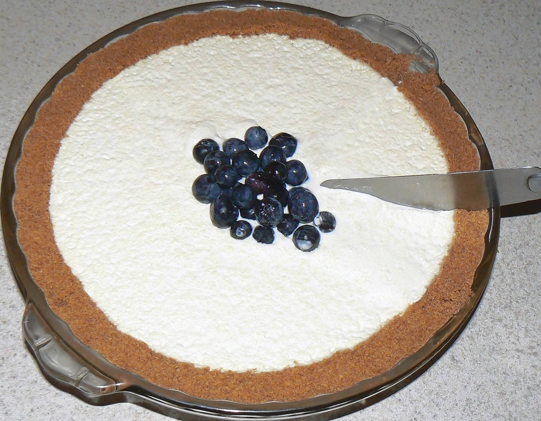 A refreshing, light and slimmed down version of a no-bake cheesecake for hot weather dining.