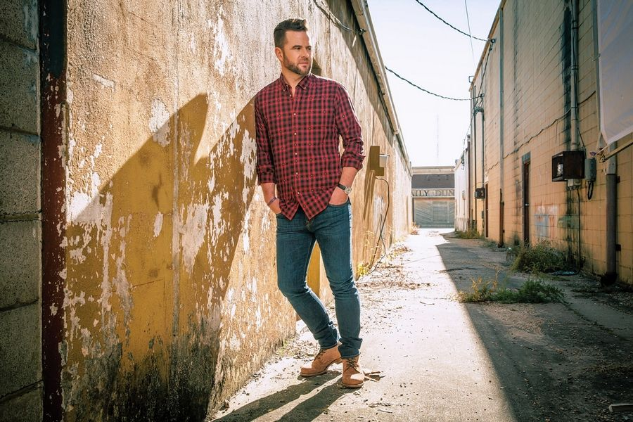Country music star David Nail headlines the Saturday night concert at the DuPage County Fair.