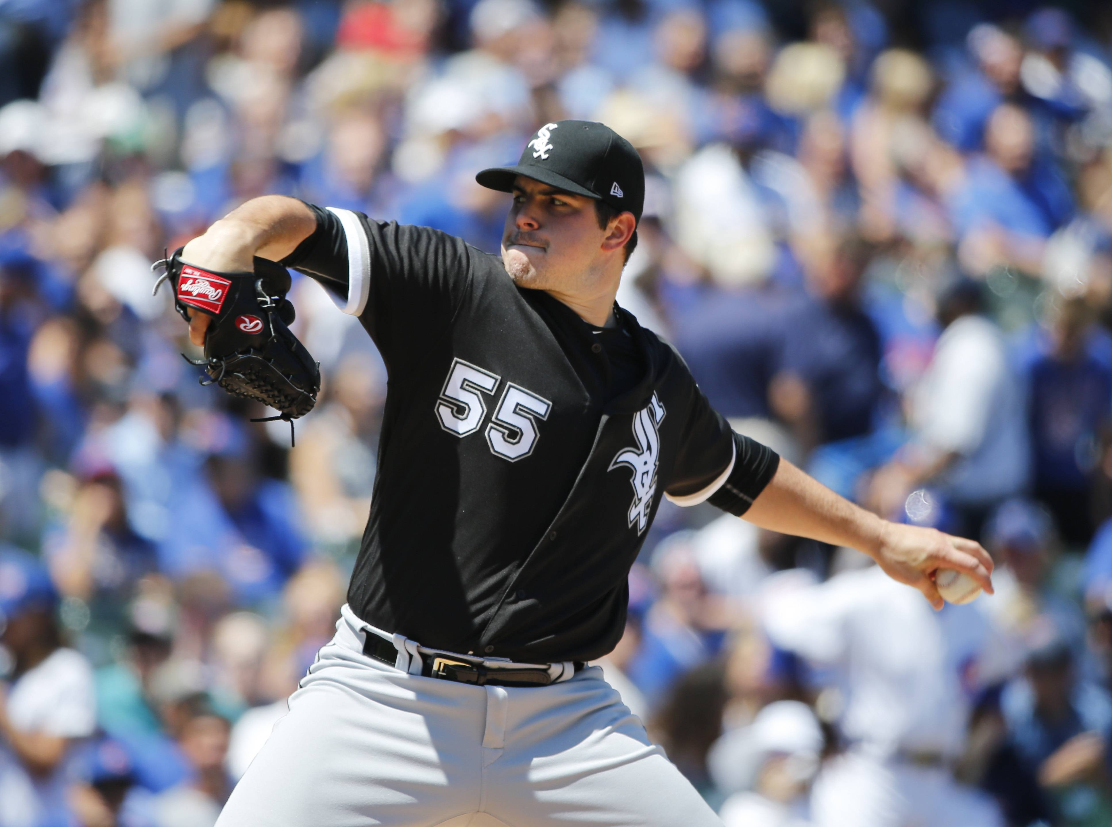 Chicago White Sox left-hander Carlos Rodon had 11 strikeouts in just 4 innings during Tuesday's start against he Chicago Cubs. It was an impressive feat, but another high pitch count (98) prevented Rodon from making it to the fifth inning.