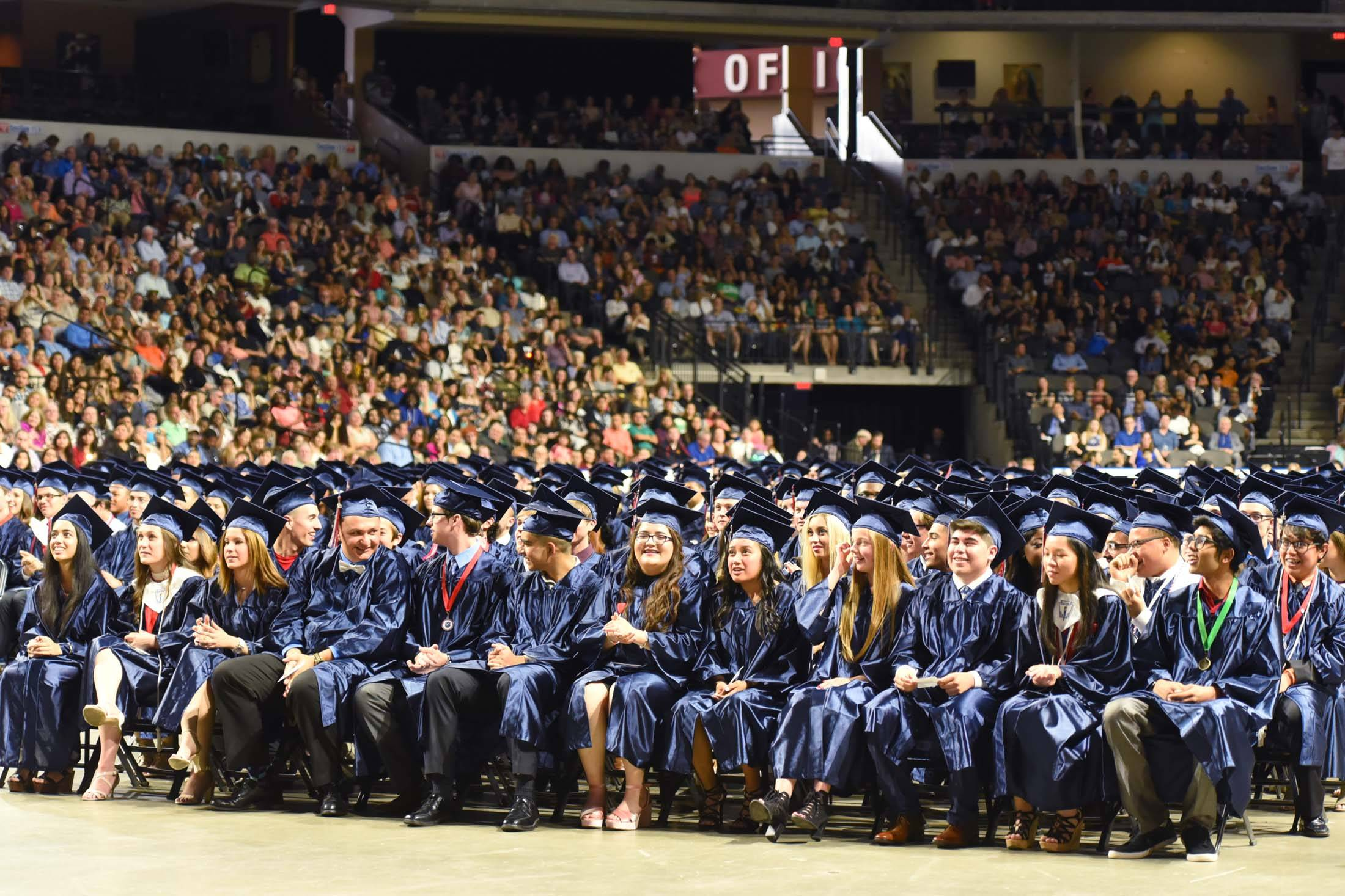 South Elgin High School's graduation has been held at the Sears Centre Arena in Hoffman Estates since 2007. Elgin Area School District U-46 paid roughly $49,000 to hold five high school graduations at the arena this year.