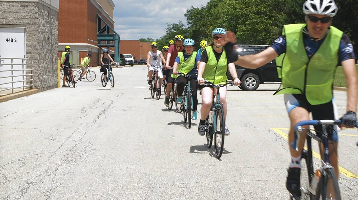 Naperville nonprofit begins biking toward heroin recovery