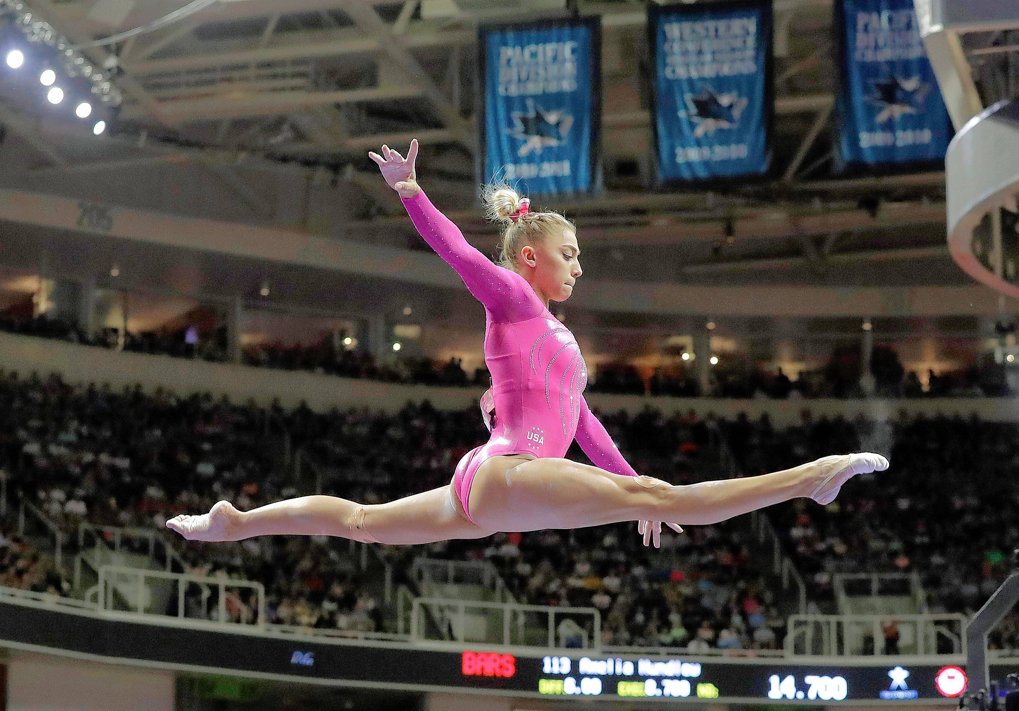 Ashton Locklear will compete with U.S. Classic Gymnastics at the Sears Centre Arena in Hoffman Estates.