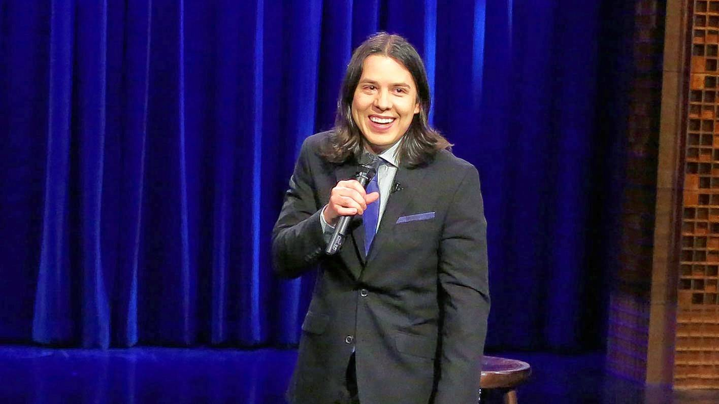 Comedian Nick Guerra performs at the Improv Comedy Showcase in Schaumburg.