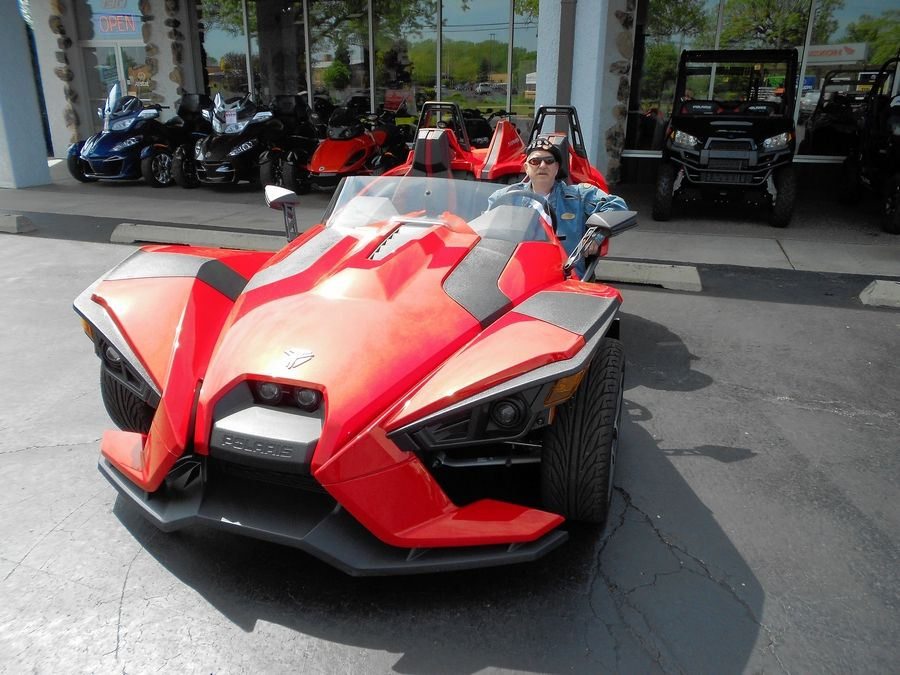 "Ken ""Hawkeye"" Glassman recently took a Polaris Slingshot SL out for a test drive."