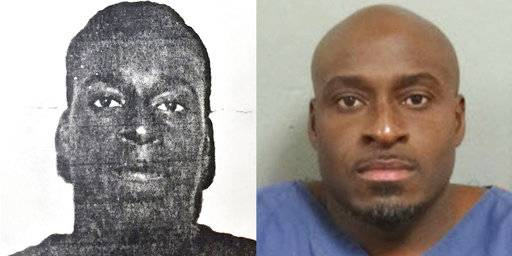 "This combination of photos made available by the Michigan Department of Corrections shows a younger Bobby Hines and in November 2015. When he was 15, just out of eighth grade, he was in court answering for his role in the murder of a man over a friend's drug debt. He did not fire the deadly shot, but when he and two others confronted 21-year-old James Warren, Hines said something like, ""Let him have it,"" words that sealed his conviction and punishment: mandatory life with no chance for parole. (MDOC via AP)"