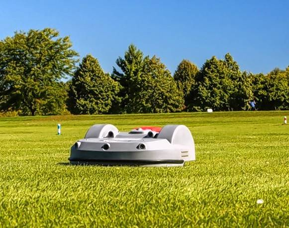 Robotic mowers are battery operated mowers that work within a border wire. These are used to maintain 600 soccer fields in Europe. Echo is testing the product for a 2018 launch in the U.S.