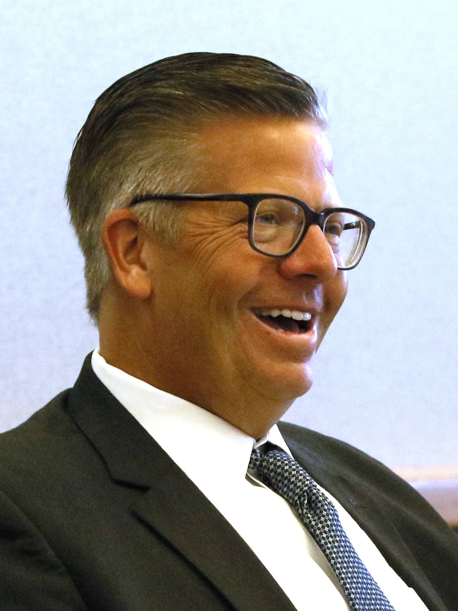 U.S. Rep. Randy Hultgren, a Plano Republican, meets Tuesday with Northern Illinois University officials at the school's Naperville campus to mark Startup Day Across America by hearing how educators are supporting innovative-minded students with new business ideas.