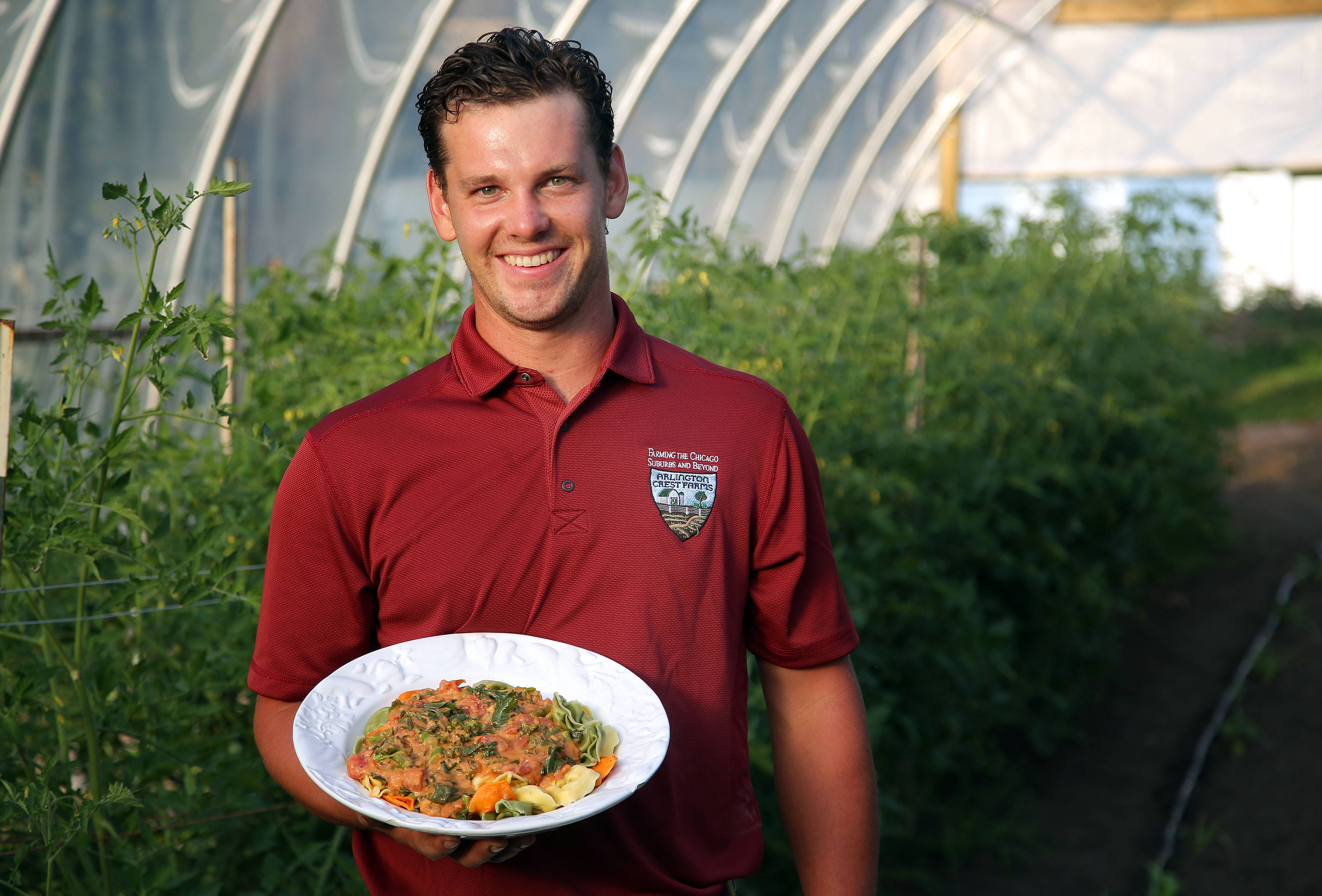 Wanting to eat and cook with good food, Lake Zurich man turns to farming