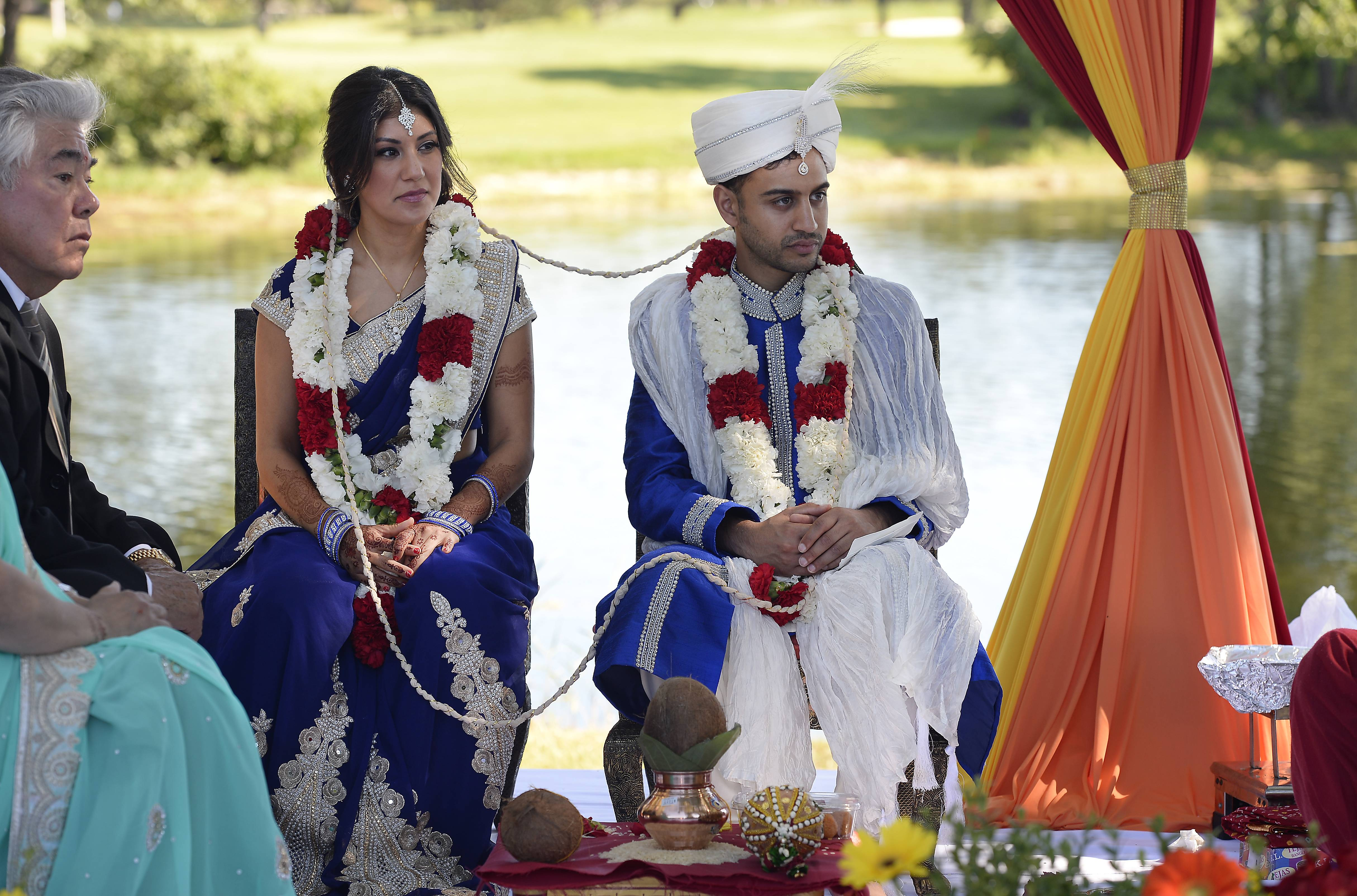 Images: Fusion Indian/Mexican wedding blends cultures