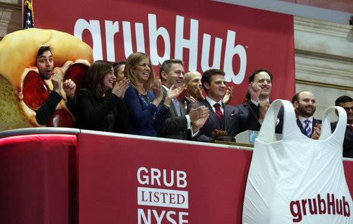 Grubhub to buy Eat24 from Yelp
