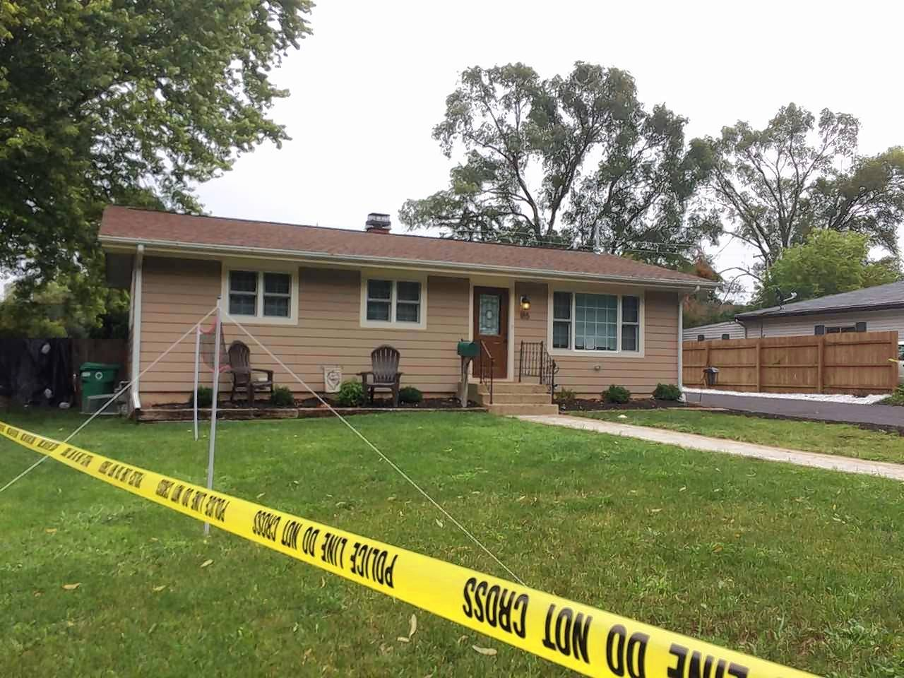 A 31-year-old woman and a 15-year-old girl were shot and killed Thursday in this home off Marian Parkway in Crystal Lake.