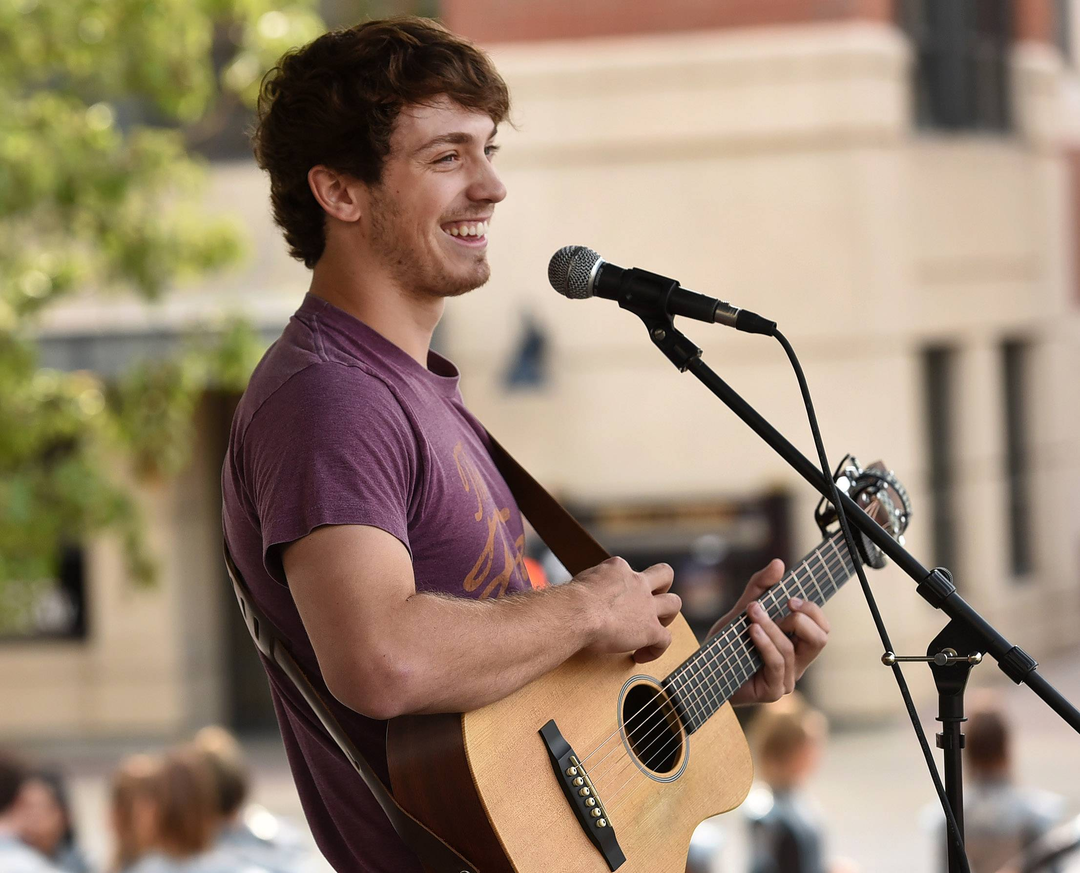 "Garrett Ryan is the 2017 grand prize winner of Suburban Chicago's Got Talent. The West Dundee singer-songwriter performed and dedicated an original song, ""Heart of Mine,"" to his girlfriend at the Saturday finale at the Taste of Arlington Heights."