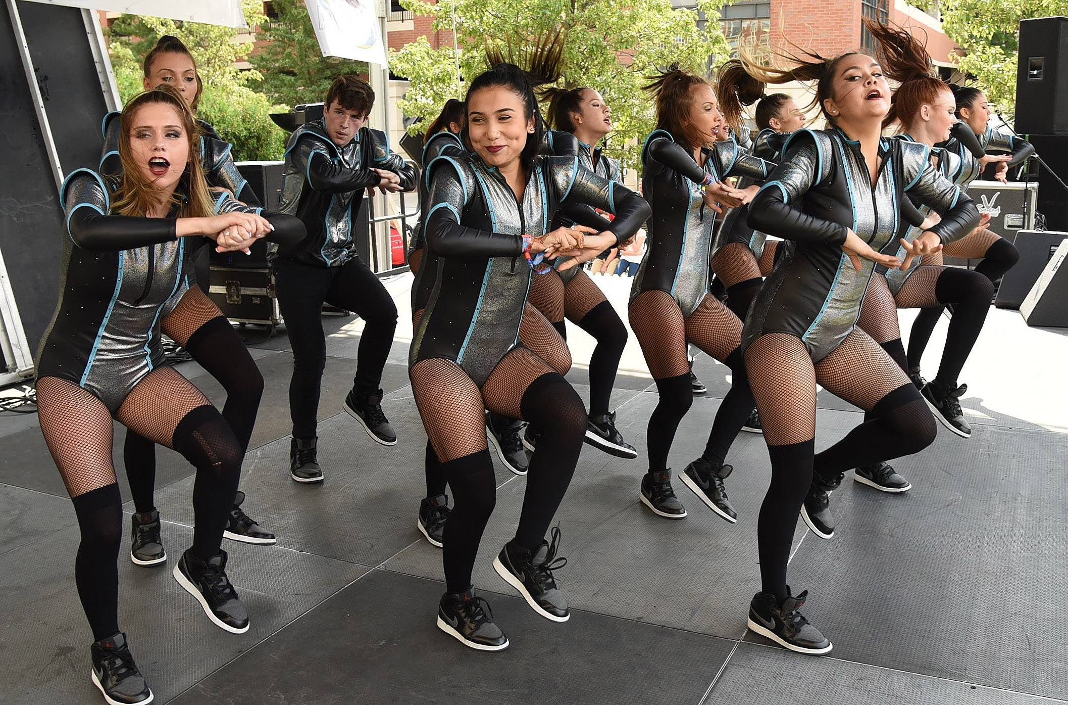 The Dynasty, a Naperville-based hip-hop dance troupe, performed to a mashup of Lady Gaga hits at the 2017 Suburban Chicago's Got Talent finale on Saturday at the Taste of Arlington Heights.