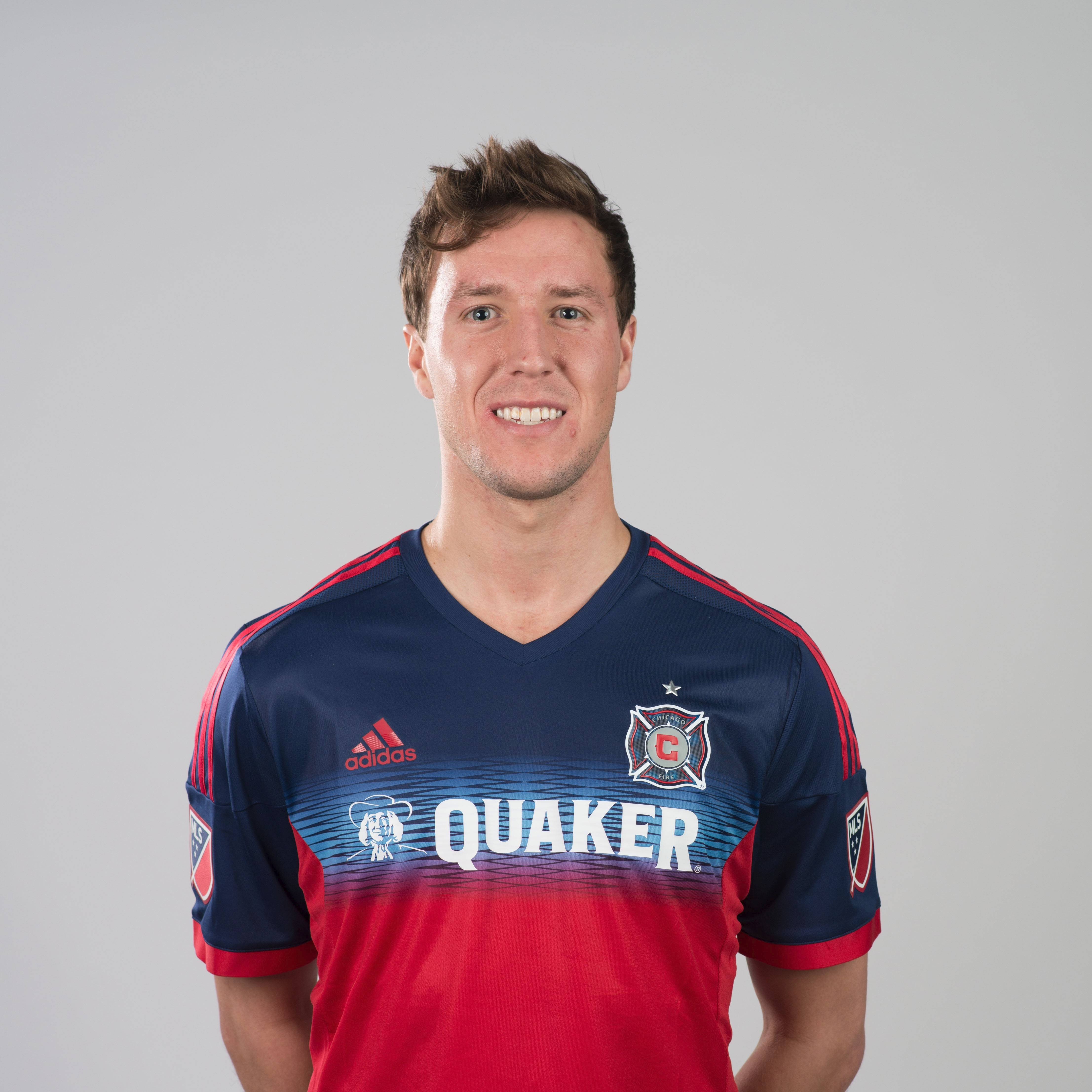 Patrick Doody, Chicago Fire defender from Naperville