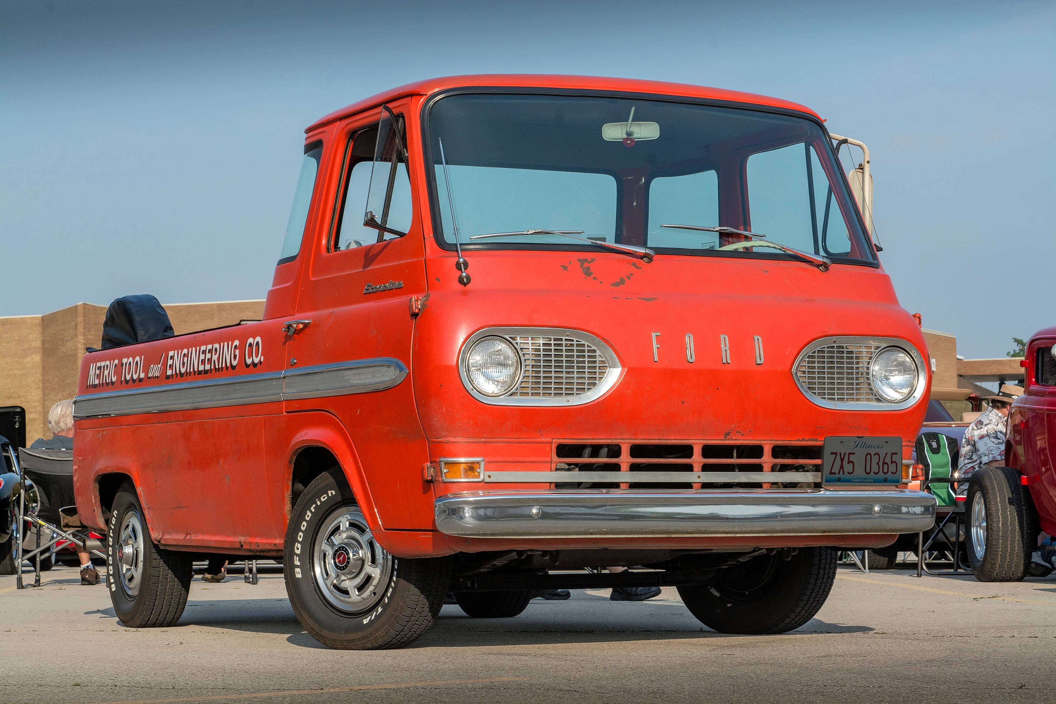 1965 Ford Ecoline F100