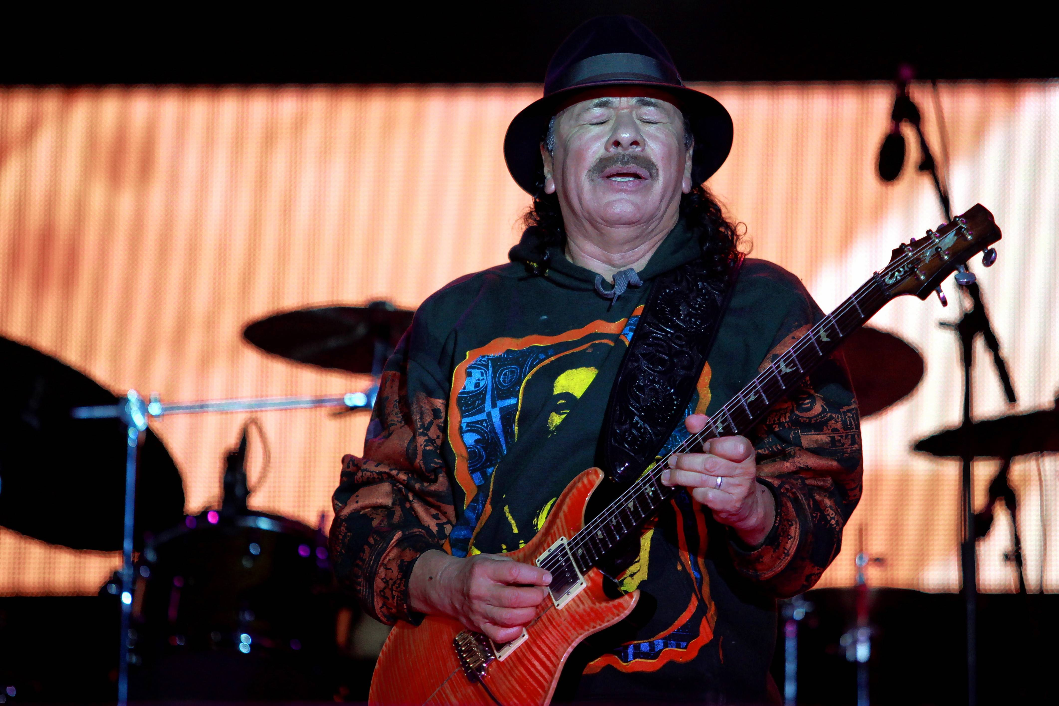 "Mexican-born guitarist Carlos Santana brings his ""Transmogrify Tour"" to Ravinia for two nights Friday and Saturday, Aug. 11-12."