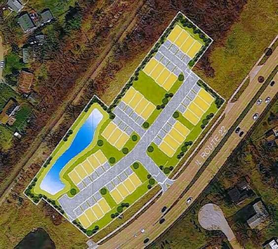 Townhouses The Latest Proposal For Vacant Lake Zurich Site