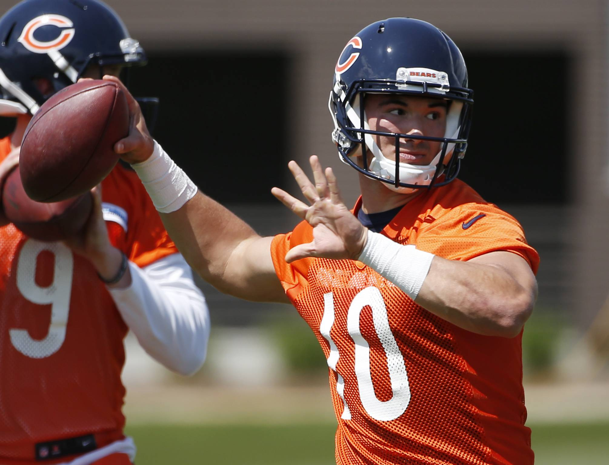 How Bears quarterback Mitch Trubisky is preparing for his debut