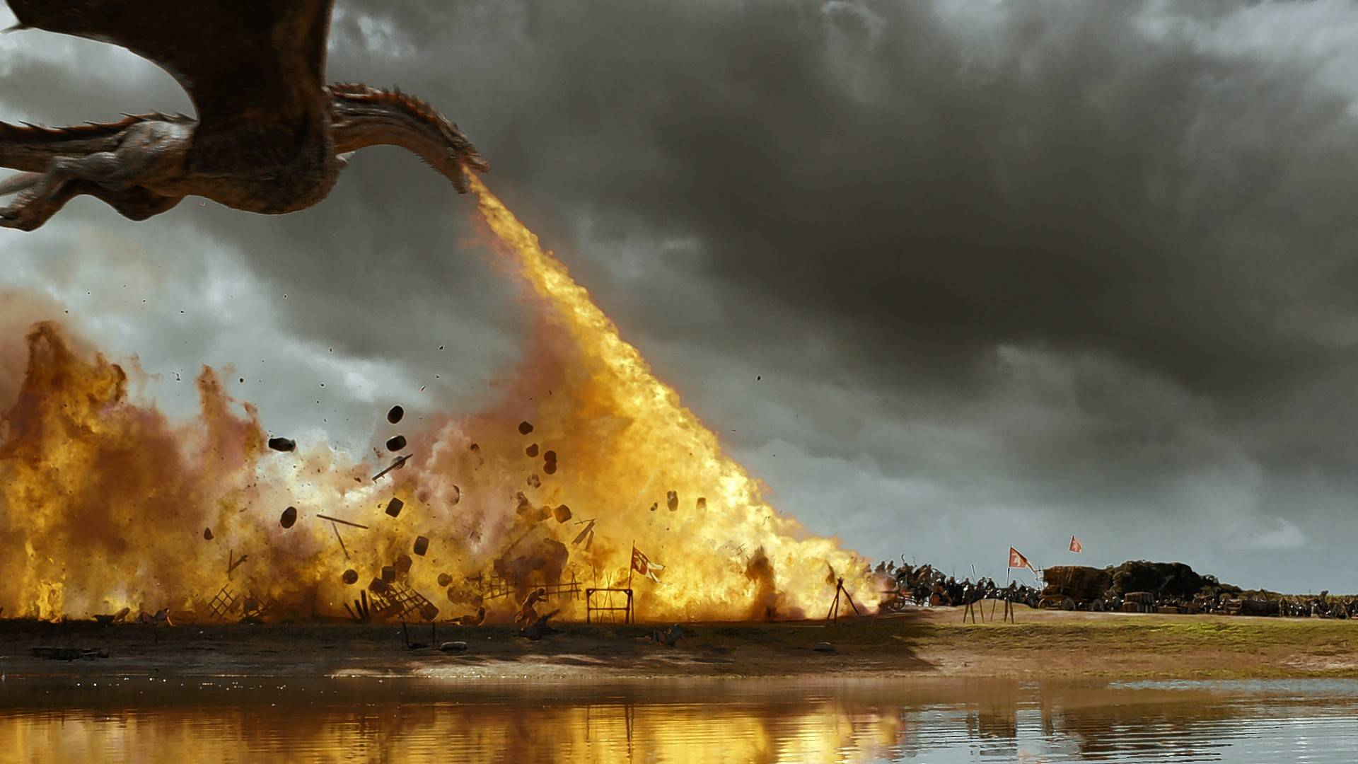 "Why go to the movie theater when you can see stuff like this at home on ""Game of Thrones""?"