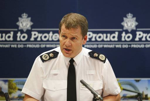 Northumbria Police Chief Constable Steve Ashman during a press conference in Newcastle Wednesday Aug. 9, 2017 after more than men were convicted of sexual offences. Prosecutors said the dozen men were of the convicted of sexual offenses in the city of Newcastle as children's advocates expressed outrage at news that a convicted rapist was paid to inform on parties where the young women and girls were abused. (Owen Humphreys/PA via AP)