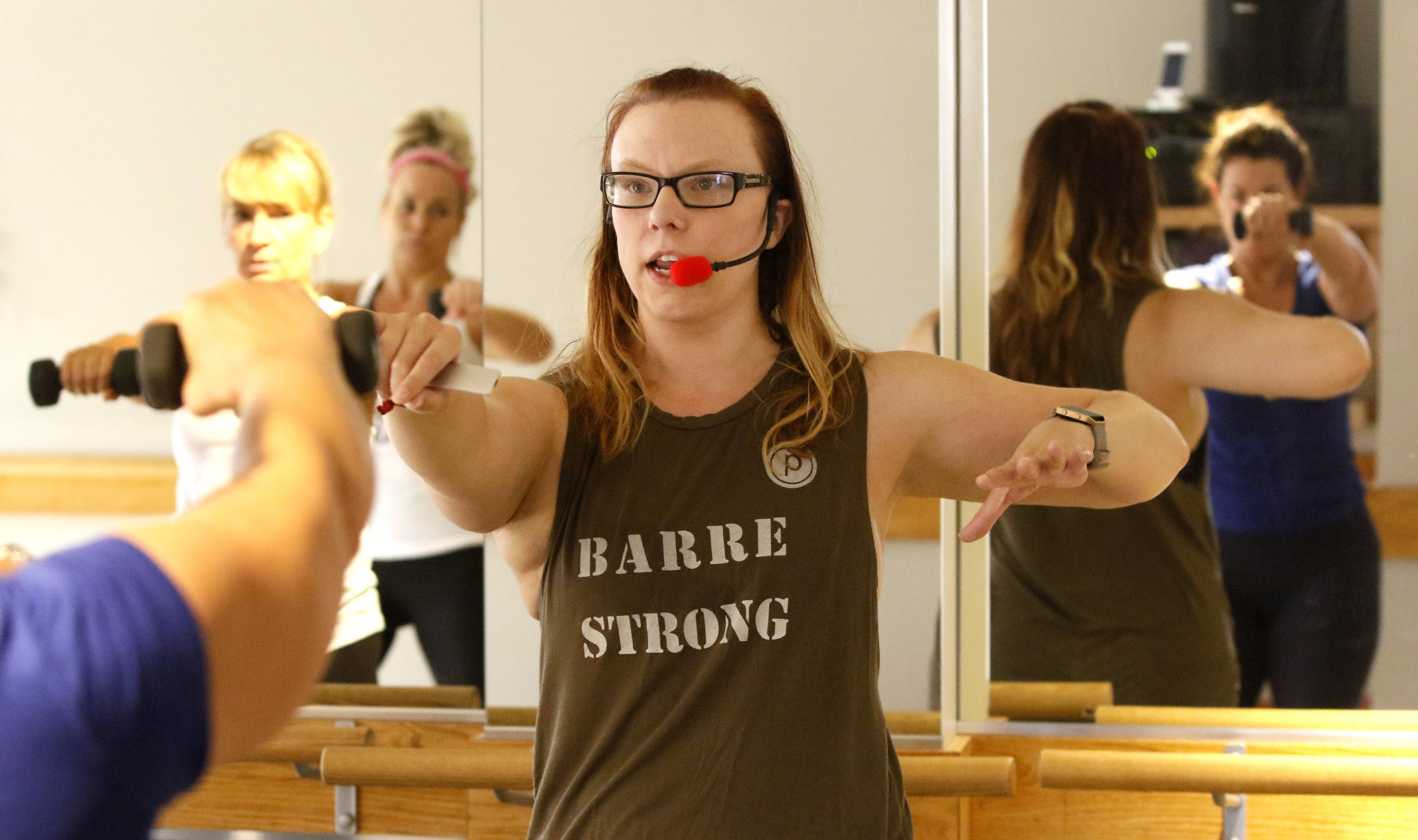 Naperville fitness studio moves up as hair salon moves in