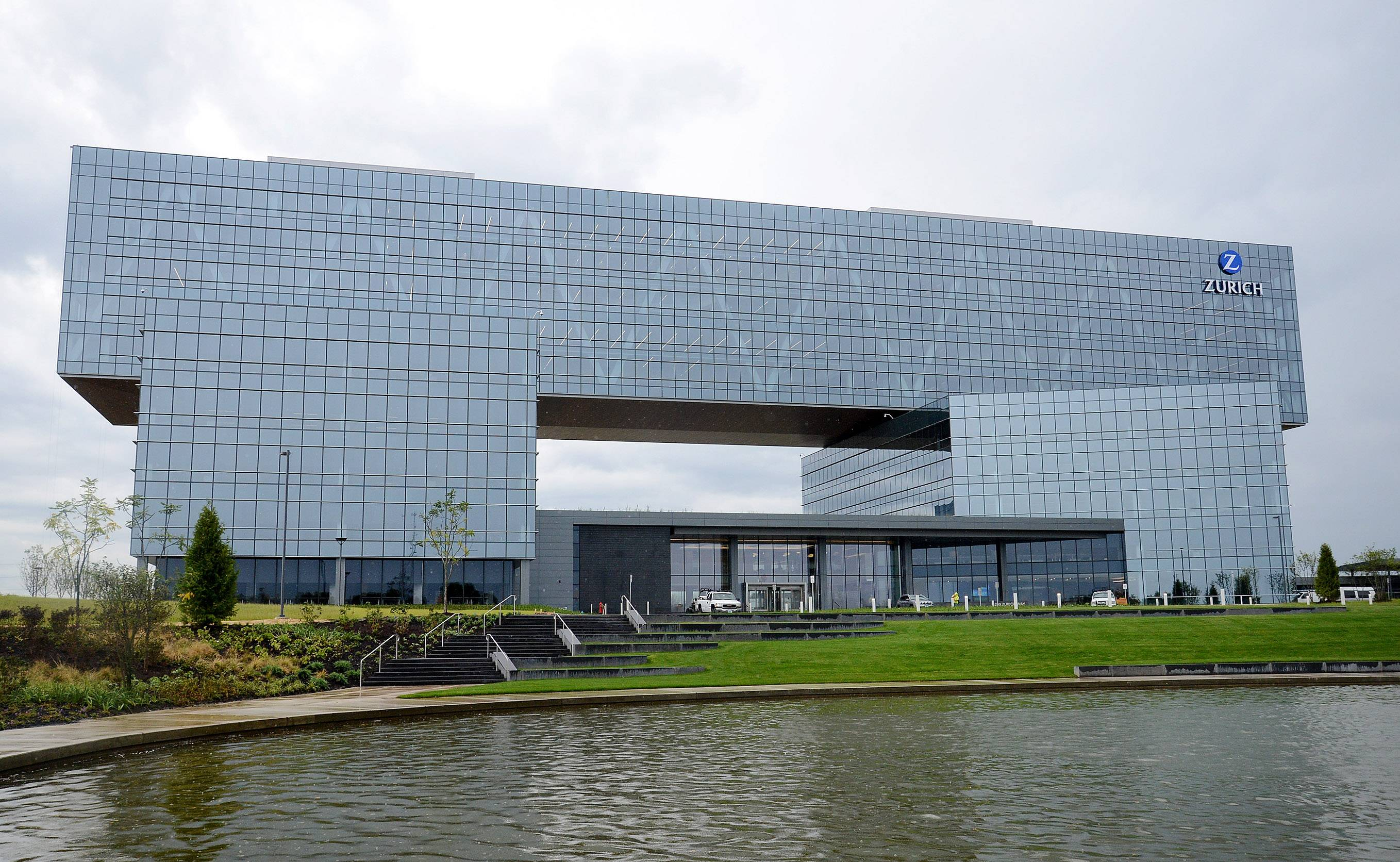 The new Zurich North America headquarters building in Schaumburg opened along the widened Jane Addams Memorial Tollway in the fall of 2016. The Illinois Chamber of Commerce has recognized both among the year's outstanding economic development projects.