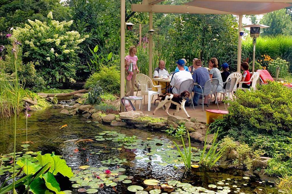 The annual outdoor Water & Garden Showcase, presented by Aquascape Construction, makes its splash this summer with free residential water feature and garden walks. The next walk will be Aug. 19.