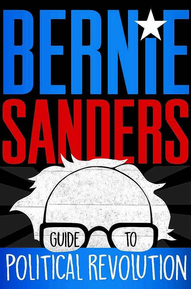 """Bernie Sanders Guide to Political Revolution"" is aimed at getting teen readers involved in the political process."