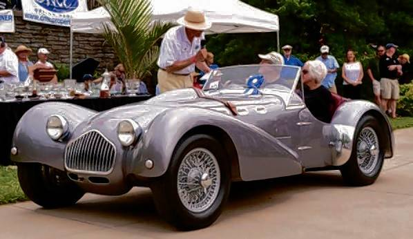 The 1950 Allard J2 owned by Dave and Kathryn Hans at its first showing won a first in its class  at the Concours d' Elegance at Meadowbrook, Michigan. The Allard also won a first in class 2014 at the Concours d' Elegance of America in Plymouth, Michigan.