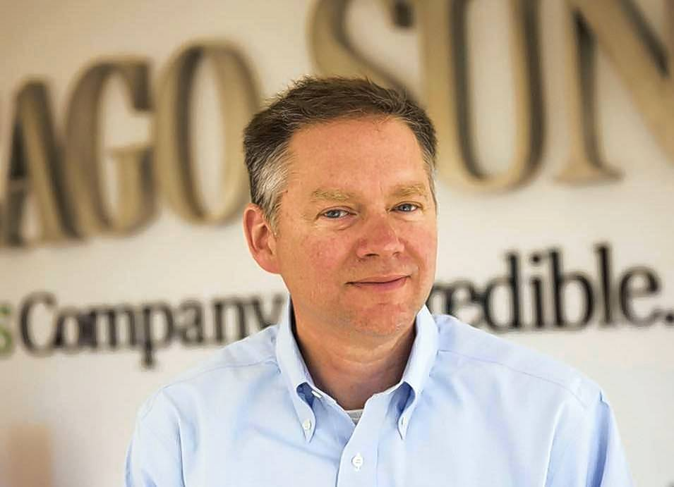 Jim Kirk is leaving the Chicago Sun-Times to work for Chicago Tribune parent company, tronc.