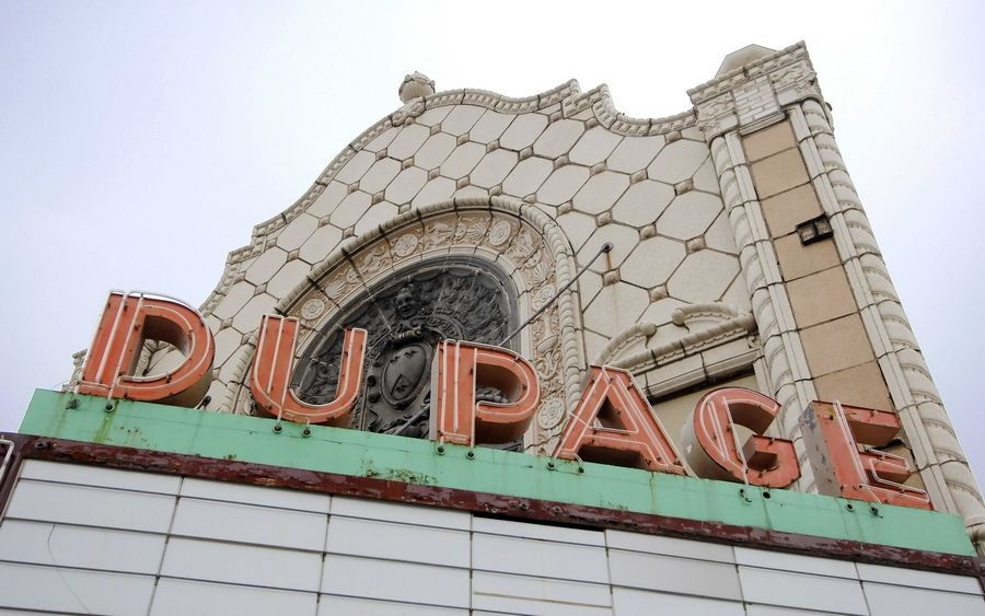 The DuPage Theatre in Lombard was razed in 2007.