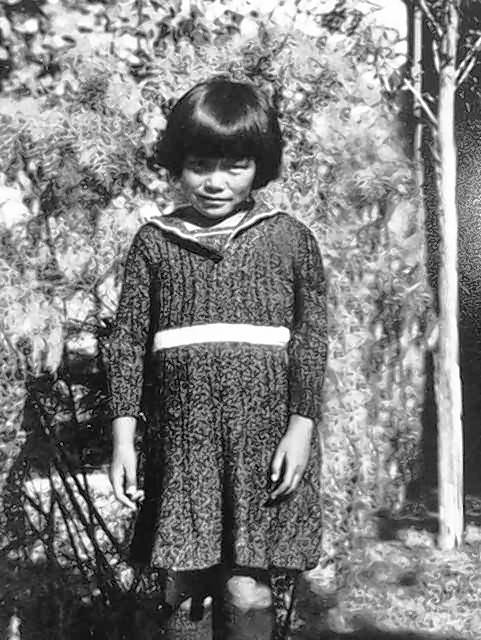 Standing outside her family's barracks in an internment camp for people of Japanese descent during World War II, 6-year-old Jean Mishima said her family's old life was disrupted. She ended up following her mother to Chicago and now lives in Glenview.