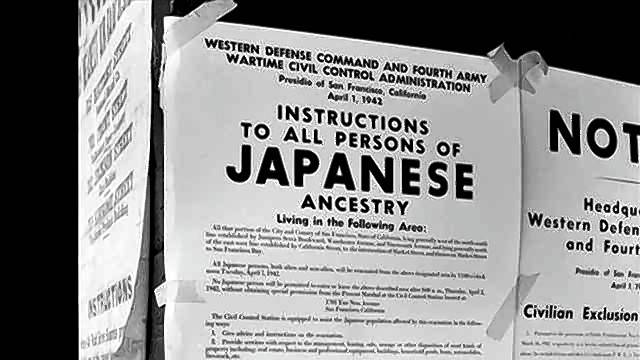 During World War II, Americans of Japanese ancestry often were forced to give up their homes and businesses to live in internment camps.