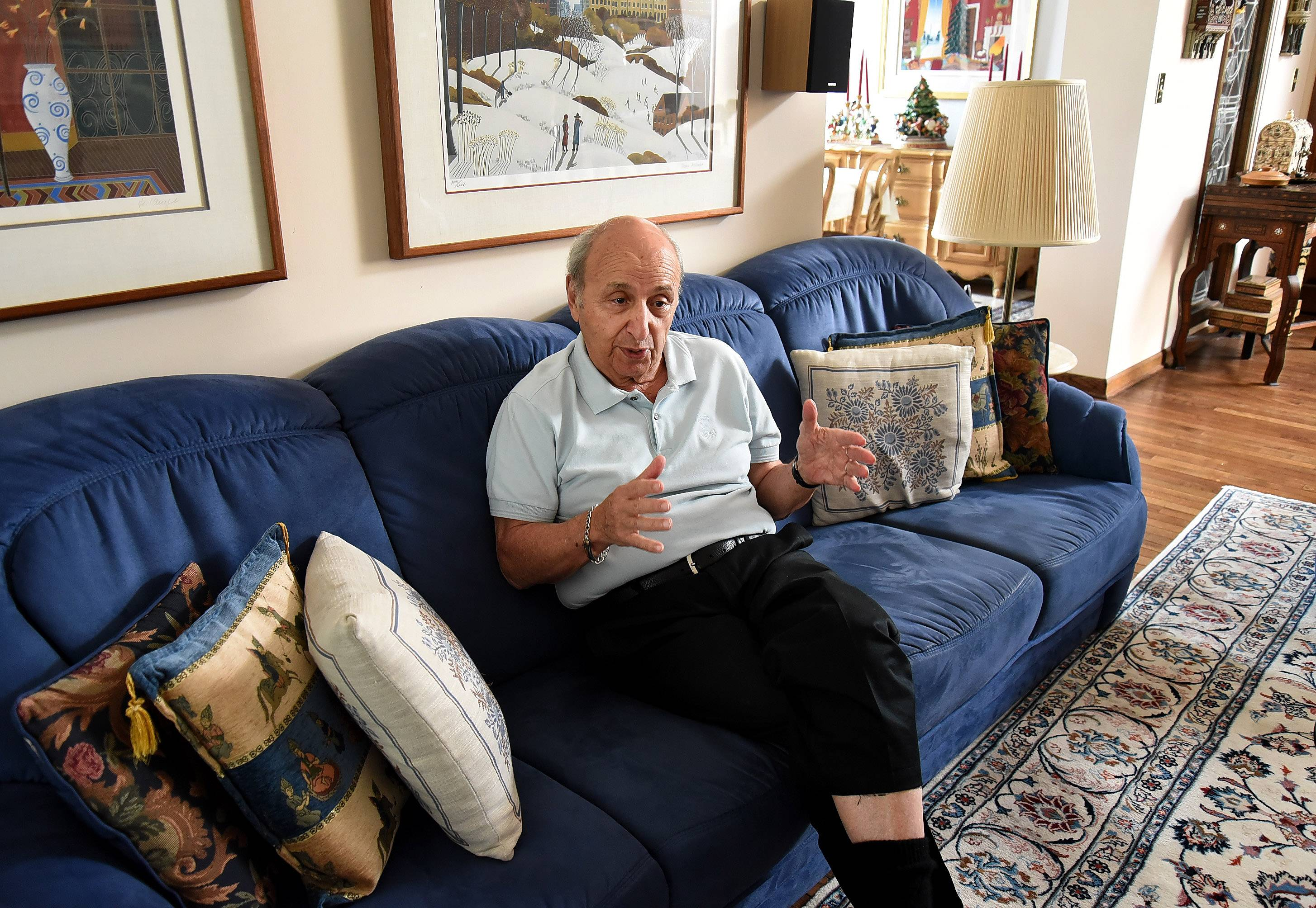 "Retired Air Force Reserve Brig. Gen. Walter ""Gibby"" Vartan remembers waving to the German prisoners of war when he was a boy growing up in Chicago during World War II. But he was terrified of the Japanese POWs because he had heard rumors that the Japanese soldiers ate children."