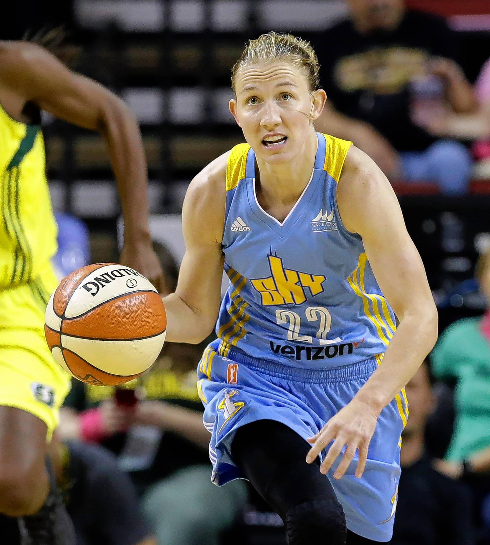 With a string of double-double performances, Chicago Sky point guard Courtney Vandersloot has helped her team get back in the playoff picture.