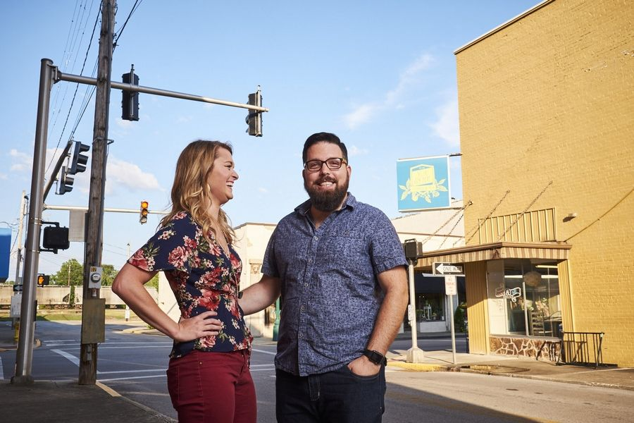Amanda Farris and Andy Salmons of Corbin, Kentucky, are talking about marriage and the idea of signing a prenuptial agreement to separate her savings from his business.