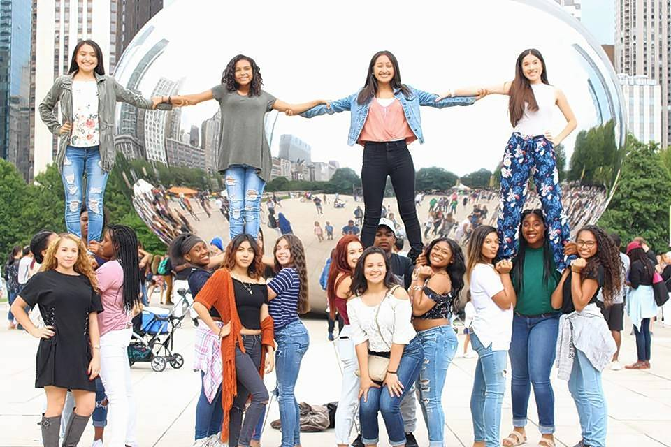 Members of the Gurnee-based Cheer & Dance Xtreme senior team, shown here in Chicago, have been invited to perform in the annual Macy's Thanksgiving Day Parade.