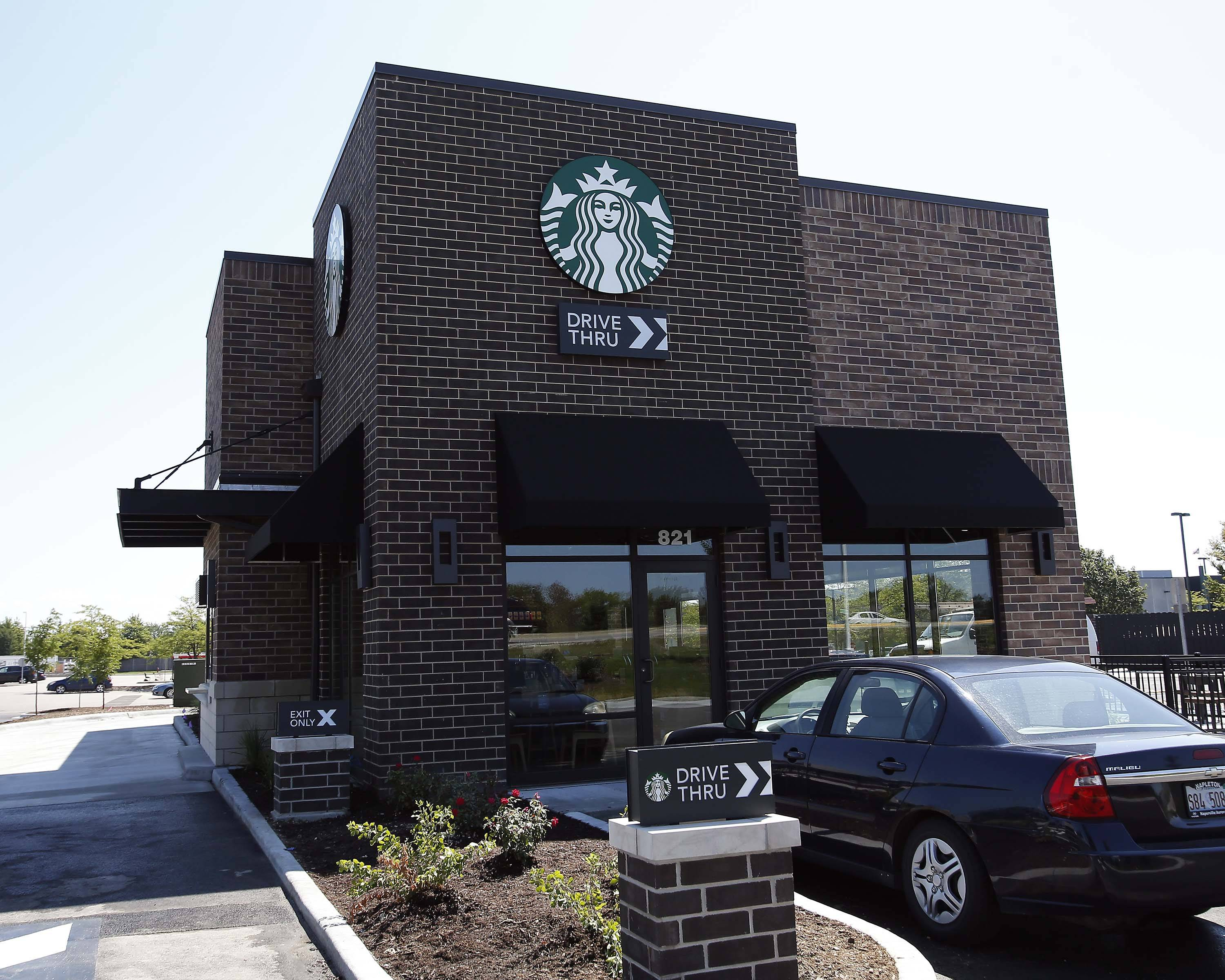 Convenient coffee: A new Starbucks has opened on Randall Road in Elgin, just south of College Green Drive.