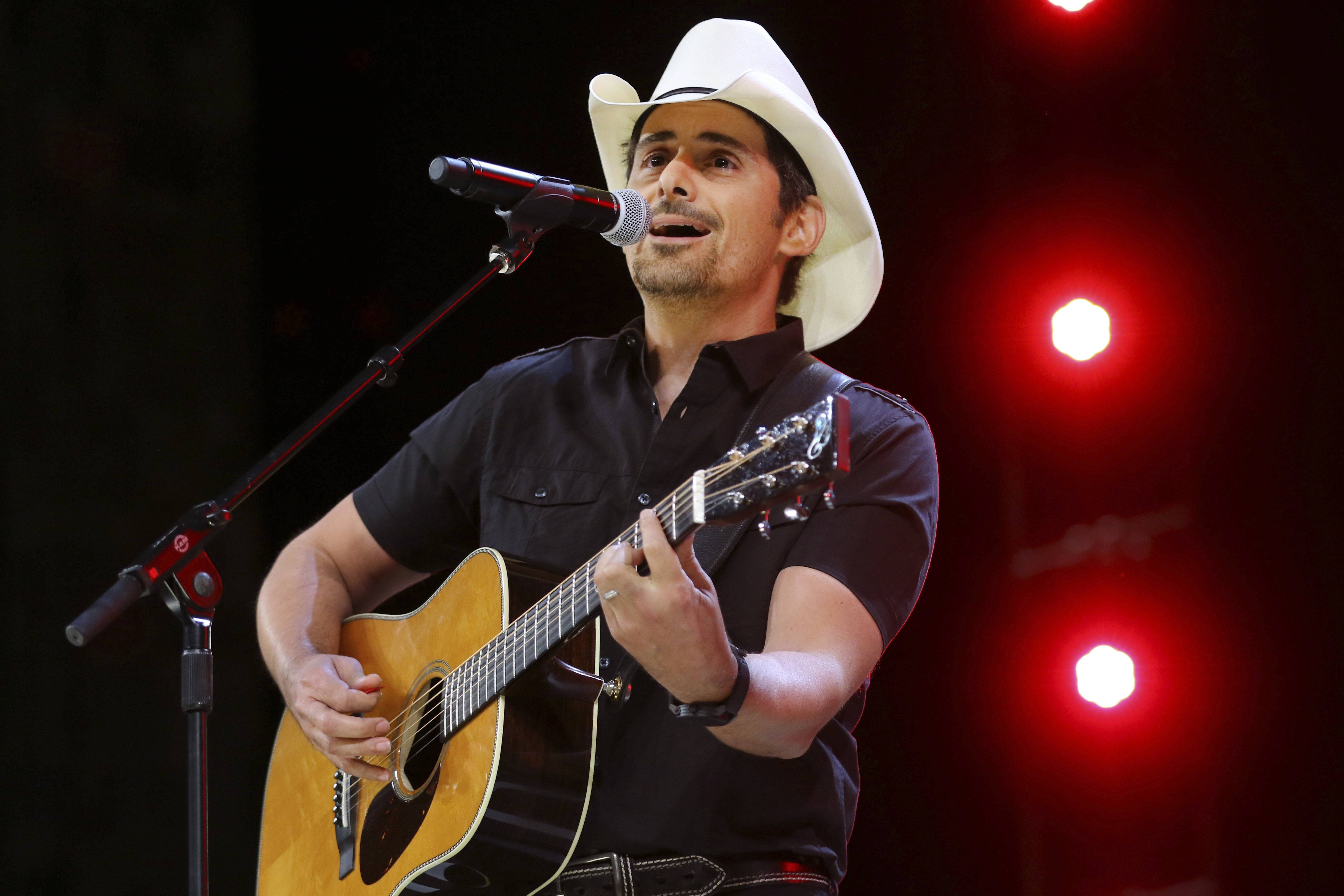 "Country music recording artist Brad Paisley says years of hosting the Country Music Awards and writing songs with humorous lyrics have — hopefully — prepared him to host his first comedy special, the ""Brad Paisley Comedy Rodeo,"" which will premiere on Netflix on Tuesday, Aug. 15."