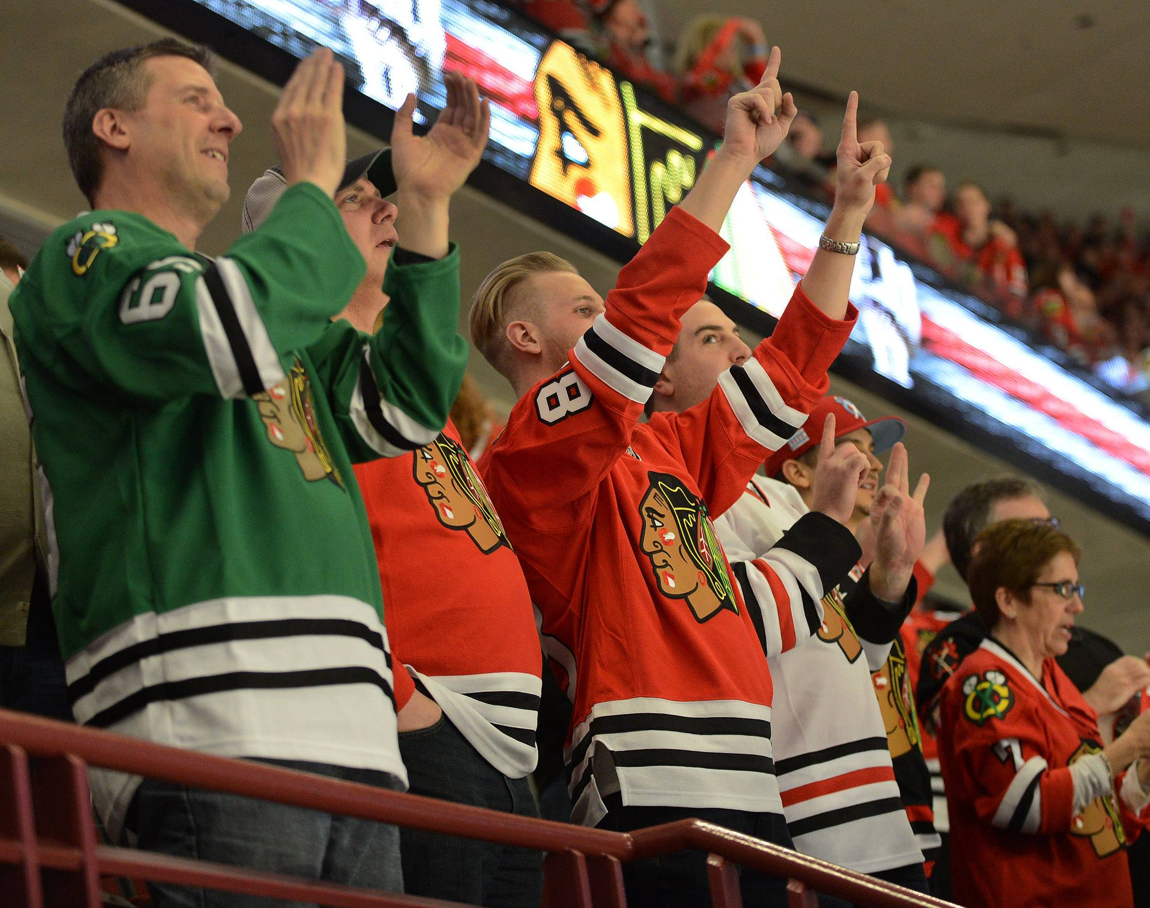 Last season, the Chicago Blackhawks led the NHL in attendance again, averaging 21,751 per game at the United Center.