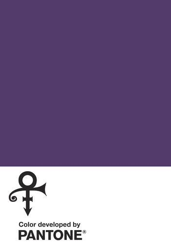 "This image provided by the Pantone Color Institute shows ""Love Symbol #2,"" that the institute and the estate of the late music superstar Prince announced as a new shade of purple Monday, Aug. 14, 2017, named for his famous love symbol. He used the symbol as his name from 1993 to 2000 in a dispute with his record label, Warner Bros. Records. Prince also made the color his signature after his '80s hit ""Purple Rain.� (Pantone Color Institute via AP)"