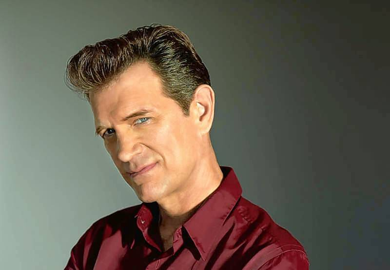 Chris Isaak headlines on Friday, Oct. 20, at Waukegan's Genesee Theatre.