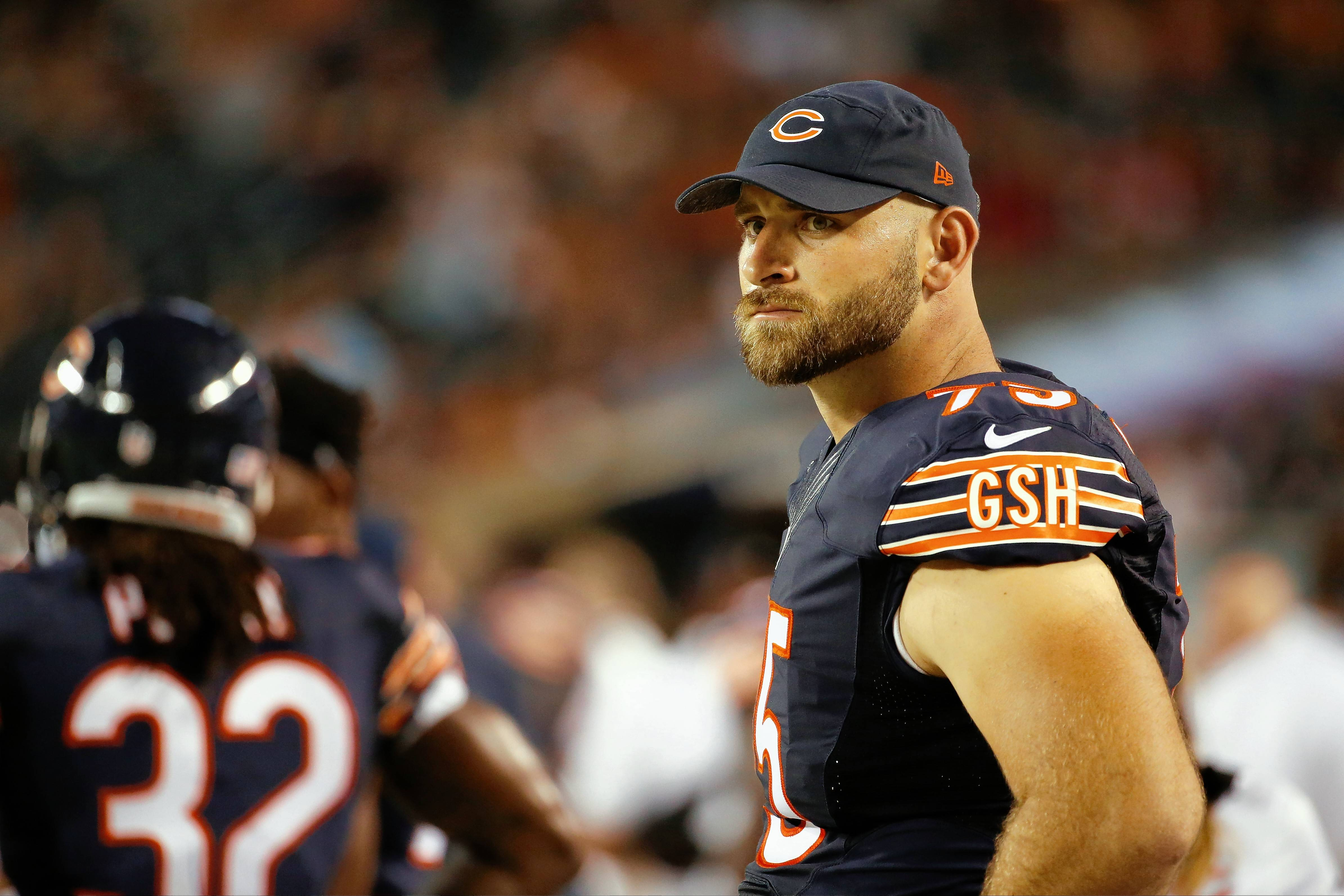 Last season was the first time in his NFL career that Kyle Long missed multiple games due to injuries. He's still recovering from ankle surgery.