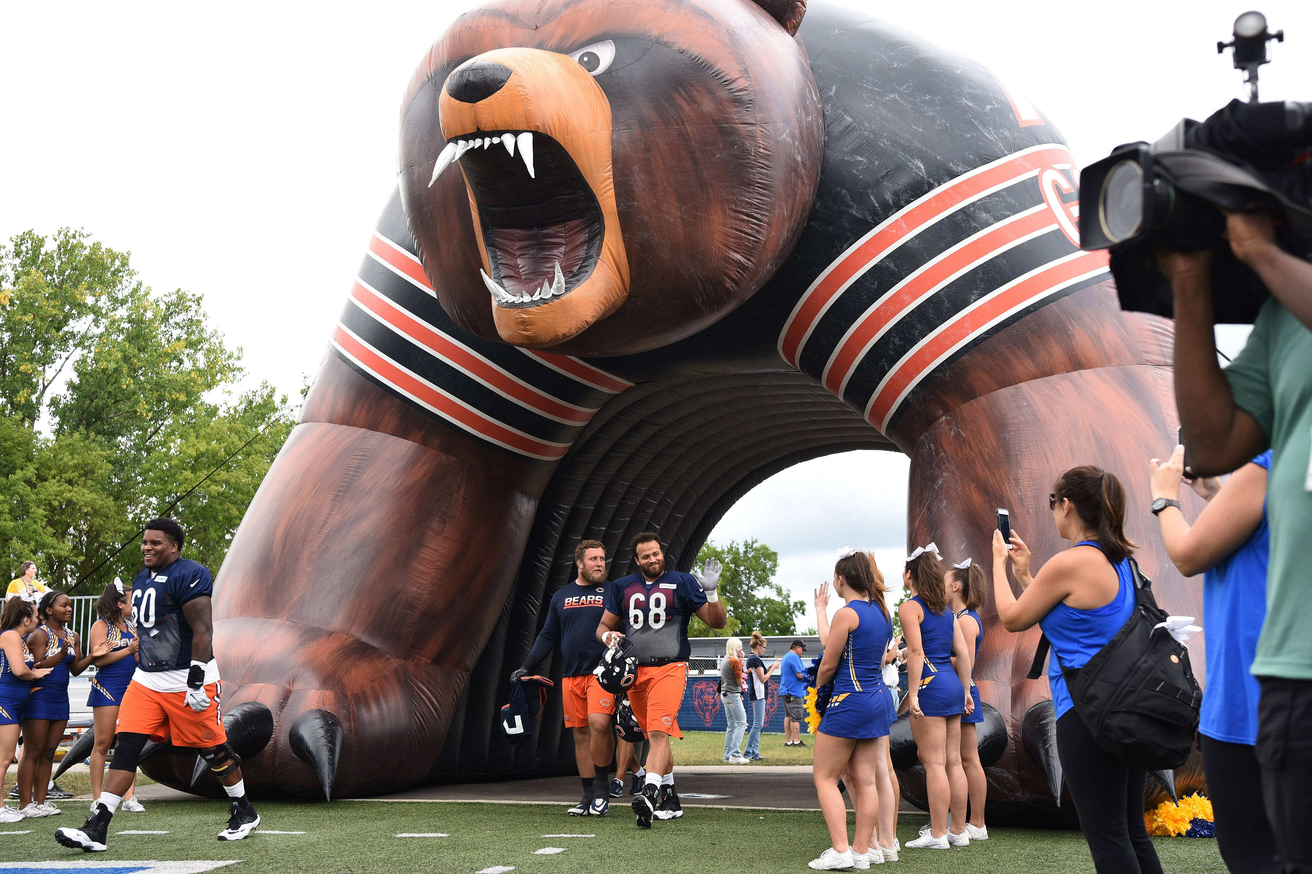 "The Bears held their first ""Varsity Bears High School Takeover"" last year at Warren Township High School in Gurnee. They're hoping for a similar ""Friday Night Lights"" high school atmosphere -- on Thursday night -- at Prospect High School in Mount Prospect."