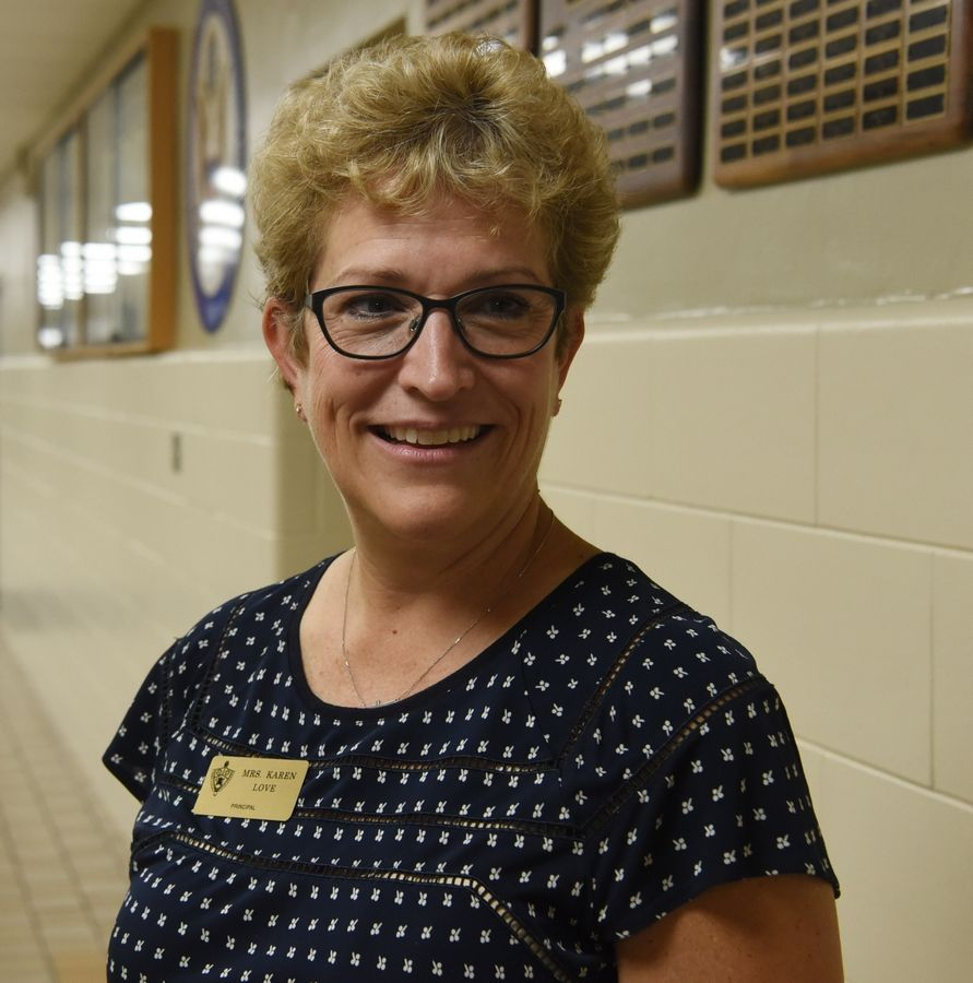 Karen Love is the new principal at St. Viator High School in Arlington Heights.