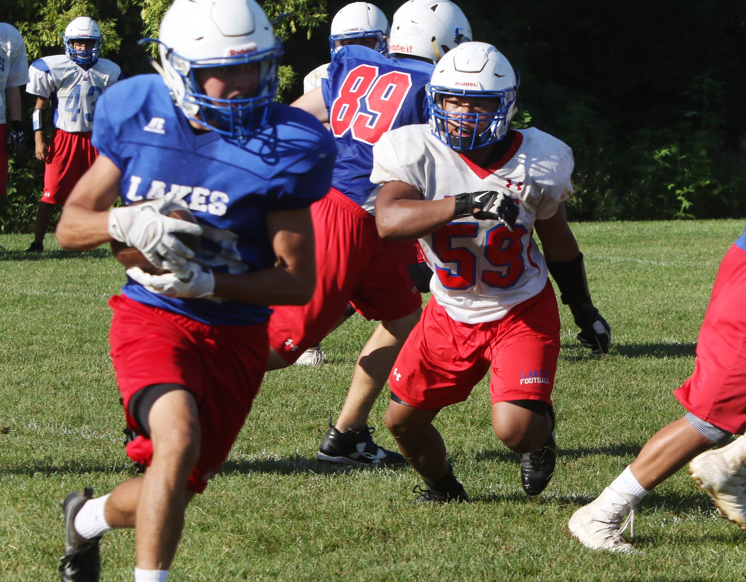 Lakes has Eder's positive approach up its sleeve